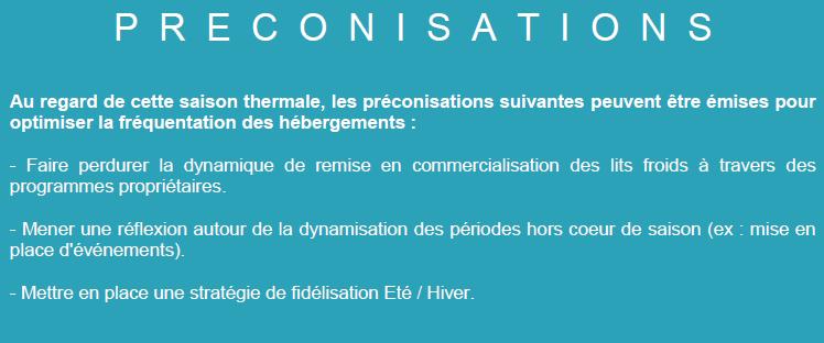 Préconisations nuitées touristiques en Haute Ariège